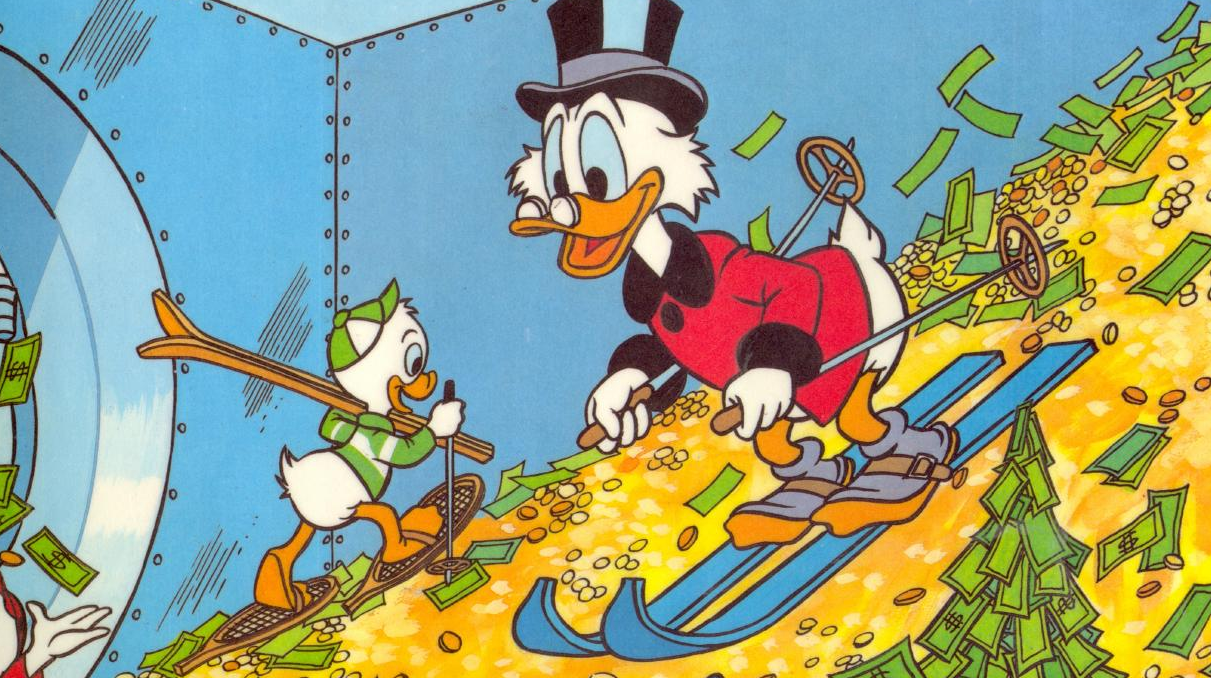 Ducktales money